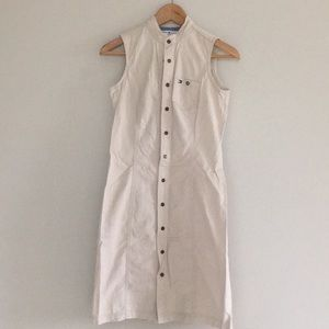 Tommy Hilfiger Button Down Front Casual Dress